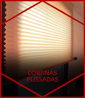 CORTINAS PLISSADAS