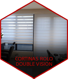 CORTINAS ROLO DOUBLE VISION